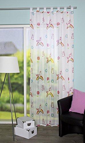 Cortina Unicornio Diseño habitación Niños Niños
