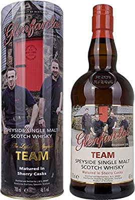 Glenfarclas Team Sherry Cask Whisky with Gift Bag (70 Litres)