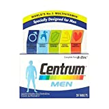 Centrum Complete A-Z Multivitamins for Men, 30 Tablets