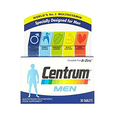 Centrum Multivitamin Men Tablets - Pack of 30