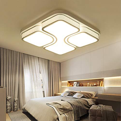 MYHOO 64W LED Deckenlampe Deckenleuchte Warmweiß Modern Wohnzimmer Leuchte Schlafzimmer Korridor [Energieklasse A++]