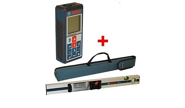 Laser Entfernungsmesser Neigungsmessung : Bosch laser entfernungsmesser glm c inkl messschiene r mit