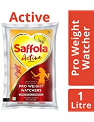 Saffola Active Edible Oil, Pouch, 1L