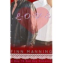 L-O-V-E: Gay YA Bad Boy Romance (English Edition)