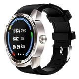 Orologio telefono K98H 3G plug-in di Smart Watch per navigazione GPS Sedentariness frequenza cardiaca e monitoraggio del sonno con il telecomando anti-perso Finder e shooting RAM 512MB ROM 4GB Silver