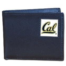 California Berkeley Bears Leather Bi-fold Wallet