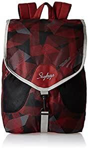 186400a70a Skybags Surf Nylon Red Casual Backpacks (SURF04RED)  Amazon.in  Bags ...