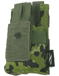 BE-X Modulare Funkgeräte / GPS Tasche mit verstellbarer Sicherung - dänisch tarn