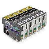 OfficeWorld Reemplazo para Epson T1301 Negro Cartuchos de tinta Alta Capacidad Compatible para Epson Stylus B42WD BX525WD BX535WD BX625FWD BX630FW BX635FWD BX925FWD BX935FWD SX525WD SX535WD SX620FW Workforce WF-3010DW WF-3520DWF WF-3540DTWF WF-7015 WF-7515 WF-7525, Paquete de 6