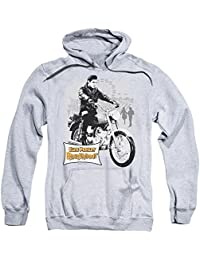 Elvis Roustabout Poster Mens Pullover Hoodie