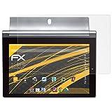 atFolix Schutzfolie für Lenovo Yoga Tablet 2-8 Displayschutzfolie - 2 x FX-Antireflex blendfreie Folie