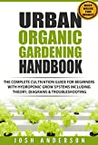 #3: Urban Organic Gardening Handbook: The Complete Cultivation Guide For Beginners with Hydroponic Grow Systems with Theory, Diagrams & Troubleshooting