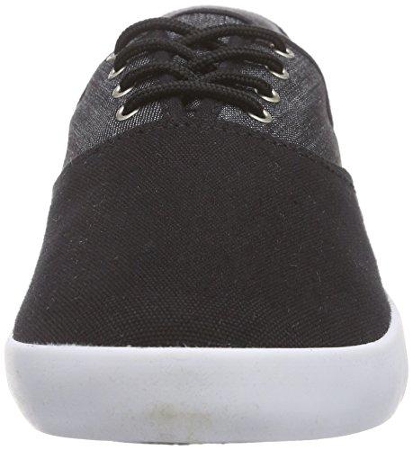 Etnies Corby, Scarpe da Skateboard Uomo Nero (Schwarz (552/BLACK/BLACK/WHITE))