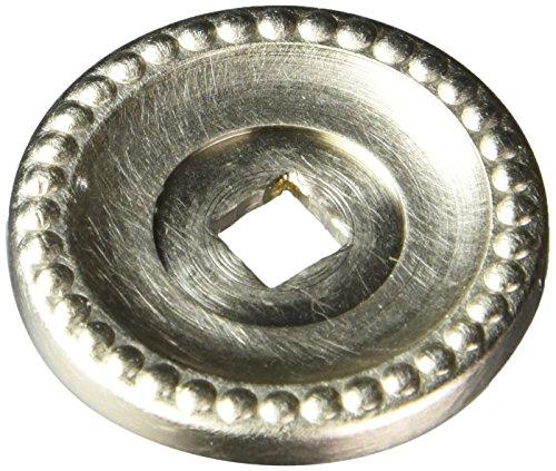 Satin Nickel Backplate (Baldwin 4901150Schrank Backplate, Satin Nickel)