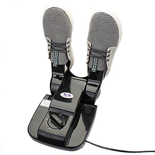 DAXGD Schuhe Handschuhe Stiefel Elektro-Trockner Wärmer mit Plug-Timer-Display Touch-Taste Lichtsensor