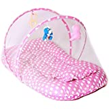 Chinmay Kids Cotton Kids Cotton Padded Toys Mosquito Net (Pink)