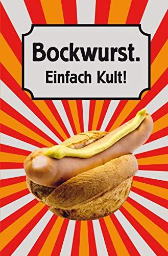 Bockwurst. Einfach Kult! (Minibibliothek, Format 6,2 cm x 9,5 cm)