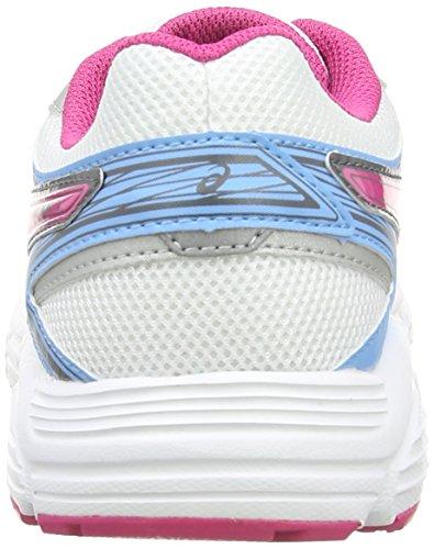 Asics Patriot 7, Scarpe da Corsa Donna White/Hot Pink/Soft Blue 0120