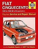 Fiat Cinquecento: 1993 TO 1998 (K to R registration) - Haynes Service and Repair Manual