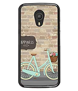 FUSON Designer Back Case Cover for Meizu M2 Note :: Meizu Note 2 (Bicycle Ride With Flowers And Way To Happy )