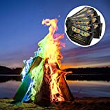 Monsterzeug Feuerpulver Zum Flammen färben, Pulver zur Flammenfärbung, Mystical Fire für Farbiges Feuer