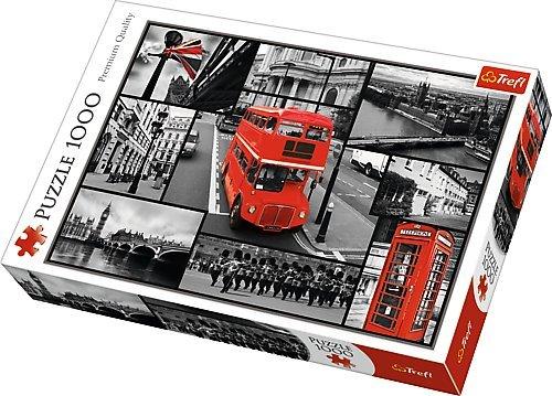 Trefl - 10278 - Puzzle Classique - Londres - 1000 Pièces