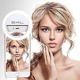36 LED Strahler Flash Selfie Licht Ring Fotolicht Selfie Enhancing Kamera Licht für Smartphones und Tablets mit 3 Ebene Helligkeit