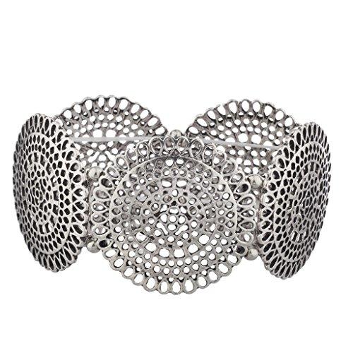 lux-accessories-burnished-boho-filigree-metal-textured-stretch-bracelet