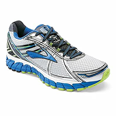 Brooks Men's Adrenaline Gts 13 M running Shoes, Men, White
