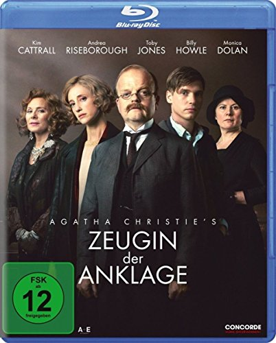 Bild von Agatha Christie's Zeugin der Anklage [Blu-ray]