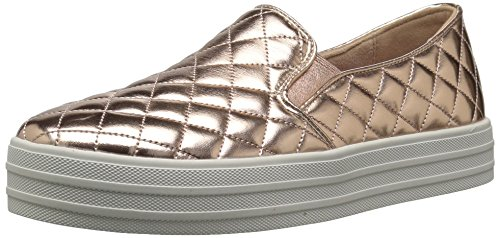 Skechers Double Up-Duvet, Sneaker Infilare Donna Oro (Rose Gold)