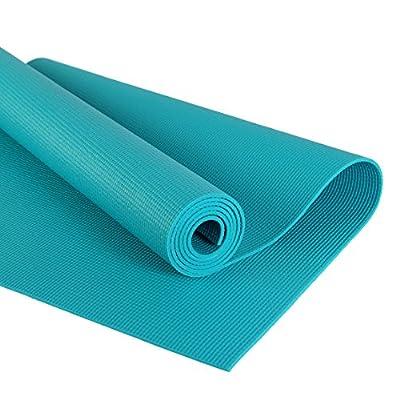 POWRX Yogamatte   Für Anfänger und Fortgeschrittene   rutschfest   ideale Übungs-/Trainingsmatte für Entspannung und Training