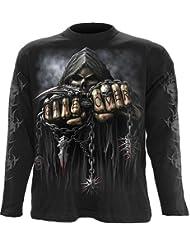 SPIRAL jeu direct sur Gothic Metal Fantasy Manches longues Top X Large
