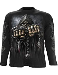 SPIRAL jeu direct sur Gothic Metal Fantasy Manches longues Top X Large