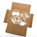 Angry Birds Ausstechformen-Set–Terence Cookie Cutter, Chuck Cookie Cutter, Hal Cookie Cutter, Minion Pig Cookie Cutter