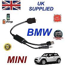 Nuevo cable para BMW Mini integradas para Iphone 5 5c 5s 6 6s 6 Más 6s más 7 7 Más se para BMW Mini Serie Digital Cable