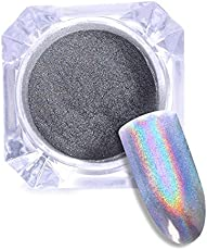 AST Works 0.5g/Box Nail Art Glitter Holographic Laser Rainbow Powder Chrome Pigment Decor