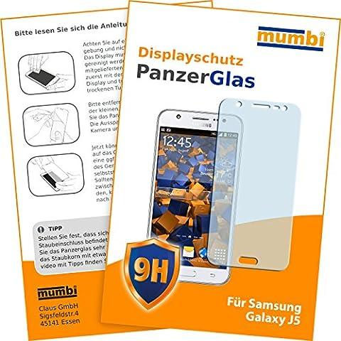 mumbi Panzerglasfolie Samsung Galaxy J5 (2015) Glasfolie Hartglas 9H