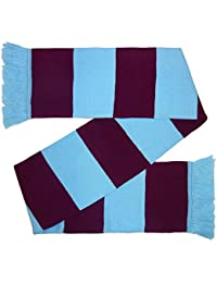 West Ham United Colours Football Gift Retro Bar Scarf