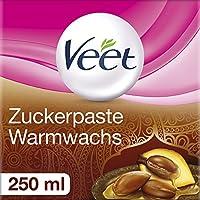 VEET Pasta de azúcar para eliminación de pelo, 1er Pack (1x 250ml)