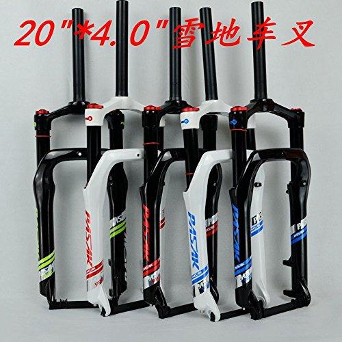 50,8cm Snow Bike Gabel Fat Fahrrad Gabeln Air Gas Locking Federgabel für 10,2cm Tire 135mm 1800g (Locking Gas)