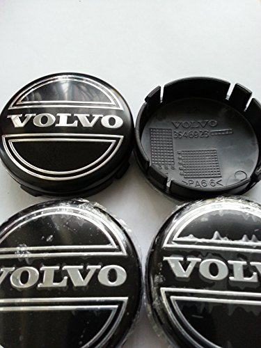 4-x-64-mm-de-centre-pour-roue-en-alliage-noir-volvo-c30-c70-s40-s60-v50-v60-v70-s80-xc9