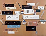 1art1 82493 Wassily Kandinsky - Komposition 1940 Poster Kunstdruck 50 x 40 cm