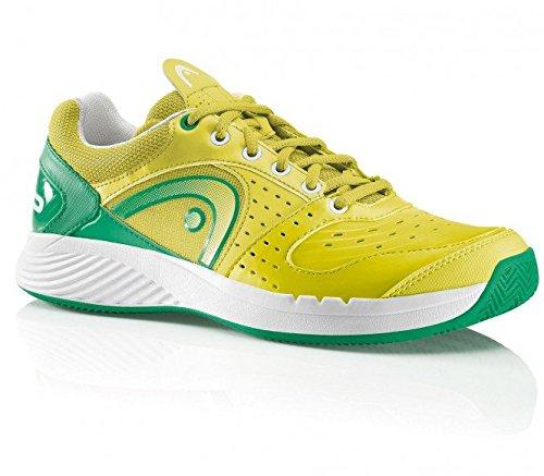 head-sprint-team-clay-hommes-edition-limitee-jaune-vert-eu-41-uk-75