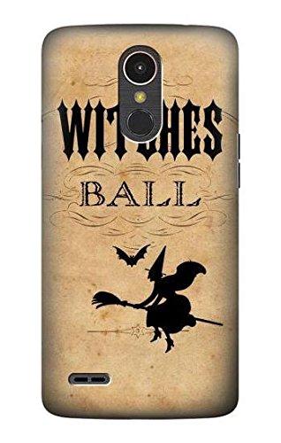 Vintage Halloween The Witches Ball Hülle Schutzhülle Taschen für LG K10 (2017)