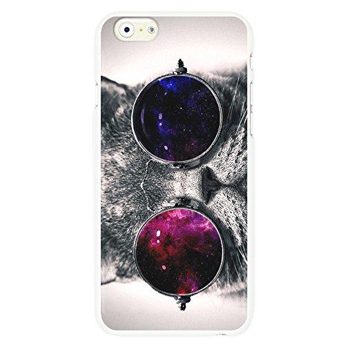 OnlineBestDigital - Animal Pattern Hardback Case / Housse pour Apple iPhone 6 / 6S (4.7 inch)Smartphone - Elephen Black Cat