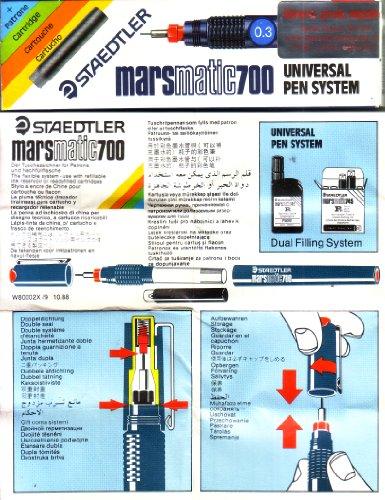 Staedtler Mars Matic 700 Universal Pen System 0.3