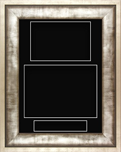 an Metall Hochformat Deep Shadow Box Bilderrahmen 3 Display Custom Bild farbiger Collage Hand Made schwarz ()