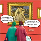 Greeting Card (CM6435) - Humorous/Birthday - Adam & Eve - Irene & Gladys