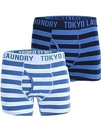 Mens Tokyo Laundry Esterbrooke Pack Of 2 Designer Boxer Shorts